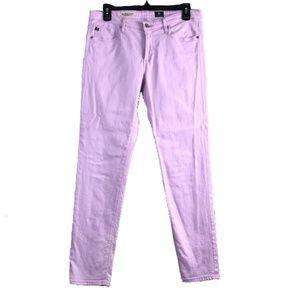 AG Stevie Ankle slim straight lilac size 29R